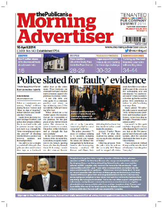 The Publicans Morning Advertiser