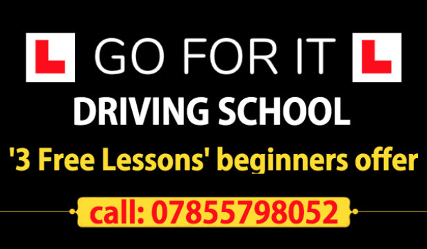 Go For It Driving School logo