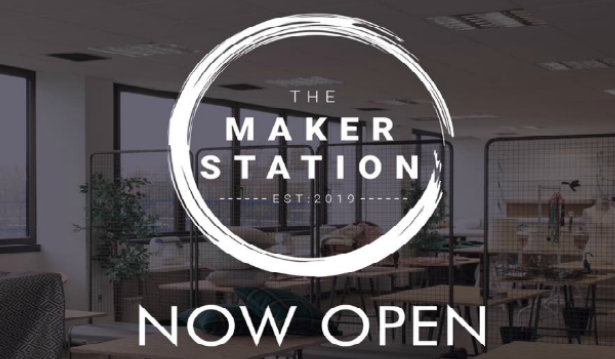The Maker Station logo