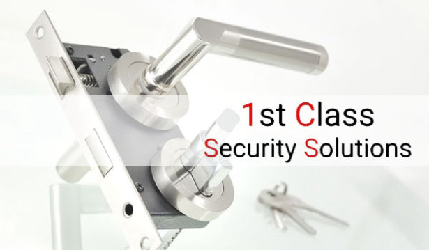 1st Class Locksmith & Security Solutions logo