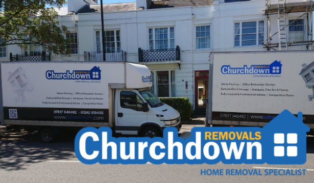 Churchdown Removals logo