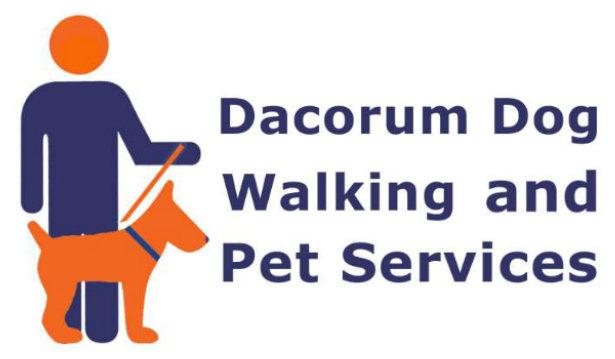 Dacorum Dog Walking and Pet Services logo