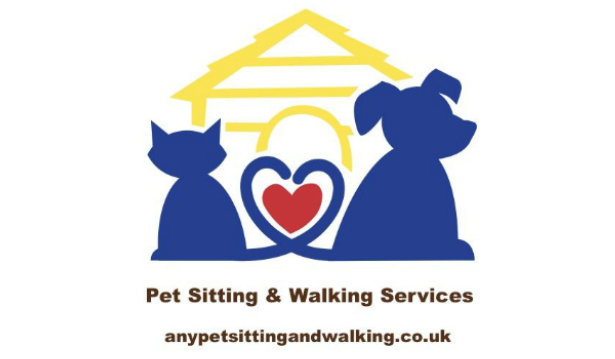 Any Pet Sitting and Walking logo