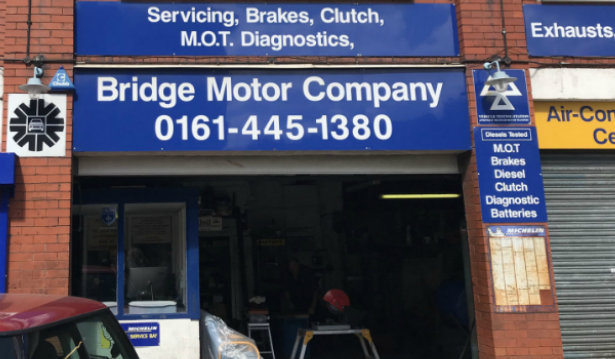 Bridge Motor Co (Withington) Ltd logo