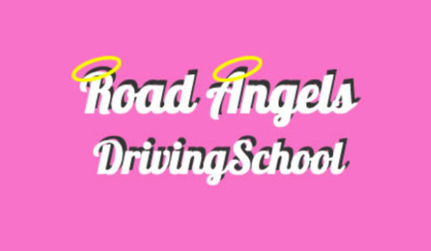 Road Angels Driving School logo
