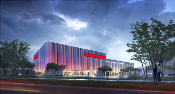 Neubau des Möbel Martin Flagship Stores in Saarbrücken
