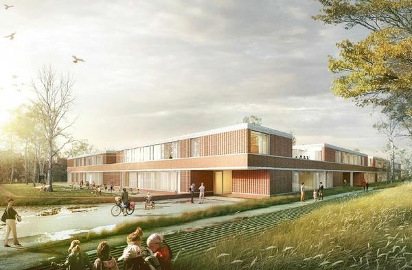 Lincoln-Neubau einer Grundschule mit KiTa