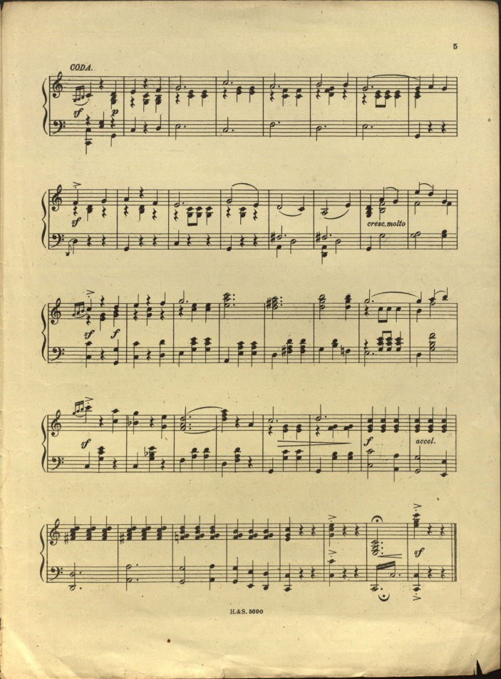 how to write a coda in sheet music. Black Bedroom Furniture Sets. Home Design Ideas