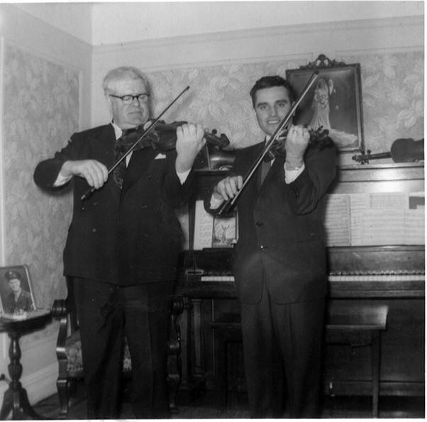 James 'Lad' O'Beirne and Vincent Harrison