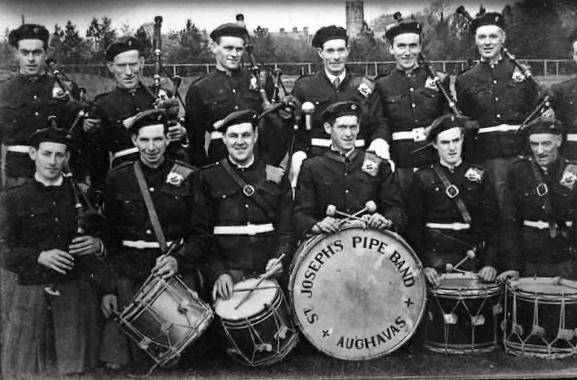 St. Joseph's Pipe Band, Aughavas