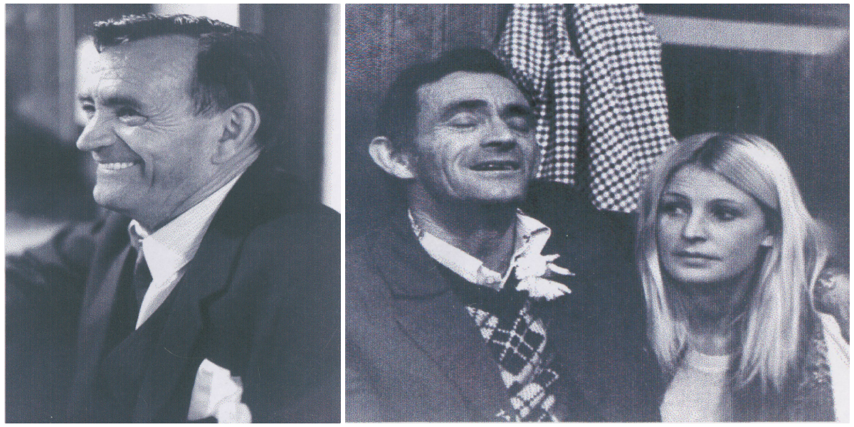 "Mikeen McCarthy (left); Mikeen with his daughter, Jean ""Sauce"" Driscoll (right; photos: Pat MacKenzie)."
