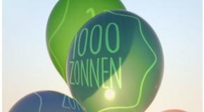 1000 zonnen