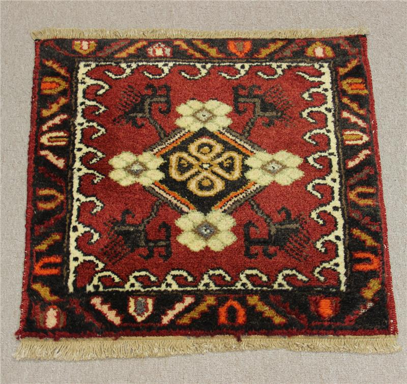 Decorative Rug: Rugs And Carpets-Vintage Doormat Small Rug 1,9X1,8 Feet