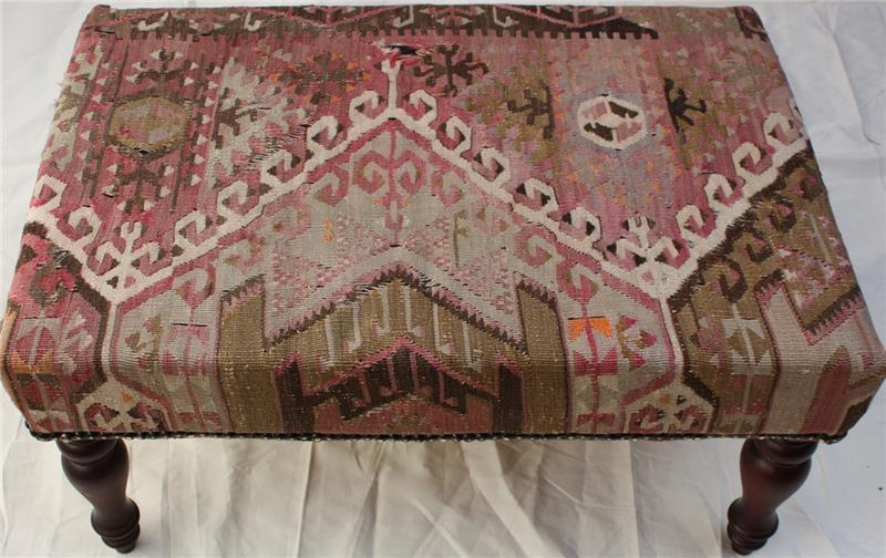R5213 Antique Turkish Kilim Furniture