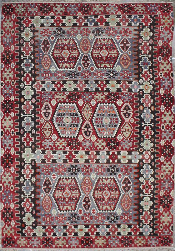 rugs and carpets-r6559 antique kilim rug-2630