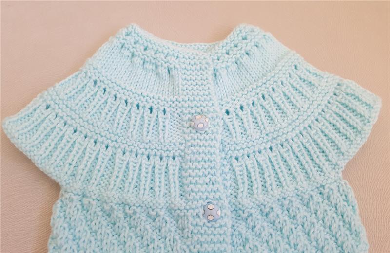 d11c7c74620d Home Decoratives   Gifts-Hand Knitted Baby Vest
