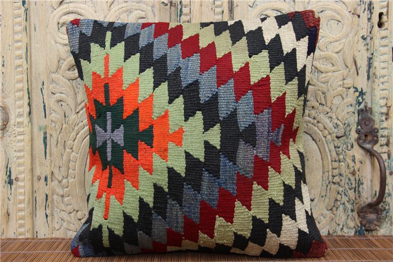 Handmade Kilim Pillow Cover 16X16