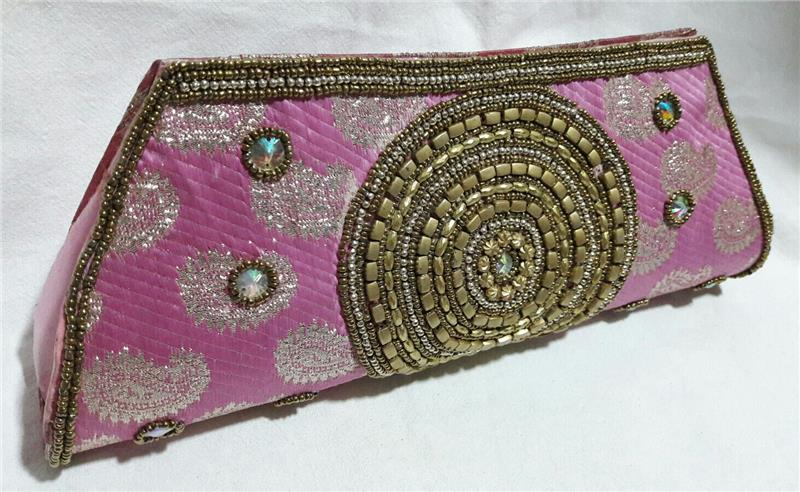 193aeb6692 Bags   Purses-Ethnic Indian Clutch Embroidered Designer Purse Hippie-51754