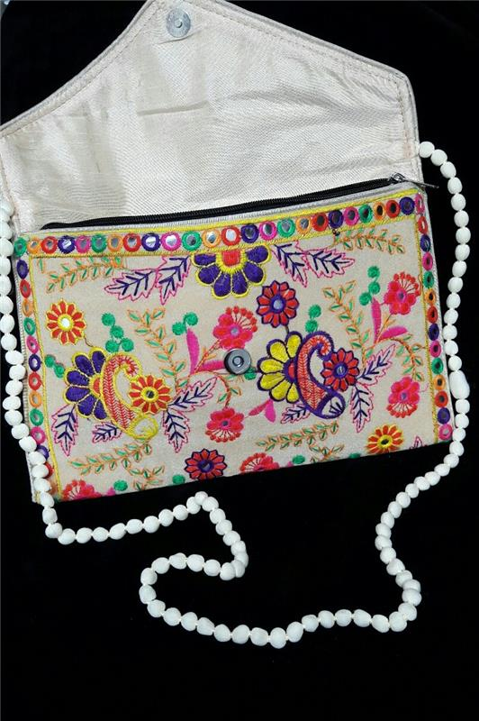 Bags   Purses-Indian Vintage Embroidered Designer Purse Hippie Boho-52813 3dc1a7c5ad4db