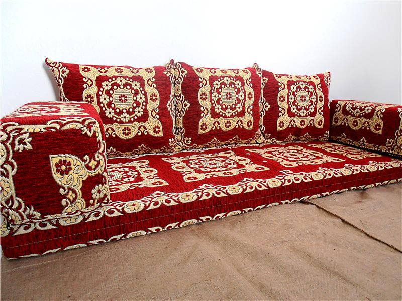 Furniture Arabic Floor Sofa Set Arabic Seating Arabic 60038