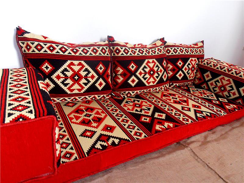 Furniture-arabic floor sofa set,arabic seating,arabic-60066