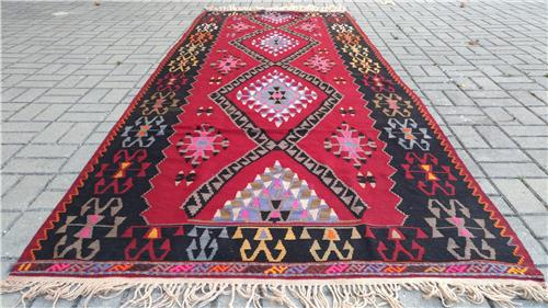 Rugs And Carpets Turkish Rug Oushak Rug 129 X 325 Cm Area Rug Wool