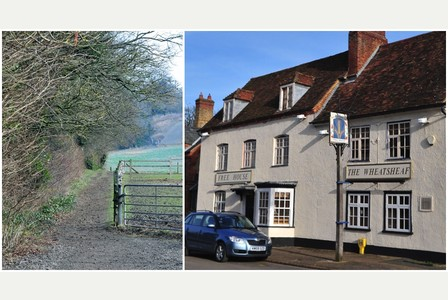 The-Wheatsheaf-Pub-and-the-Chiltern-Way