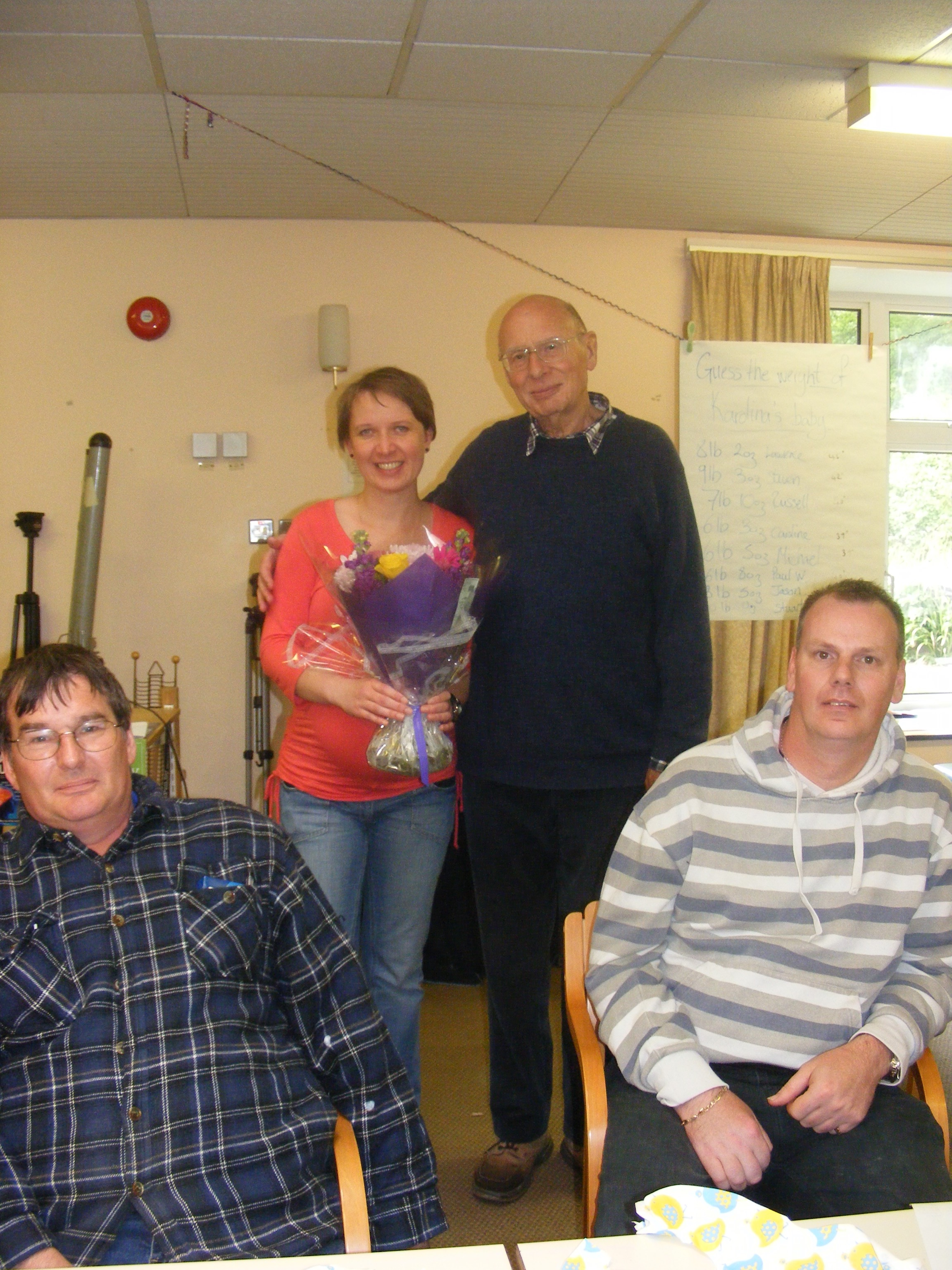 Sandy-with-HW-Basingstoke-administrator-Karolina-Narloch-and-two-service-users