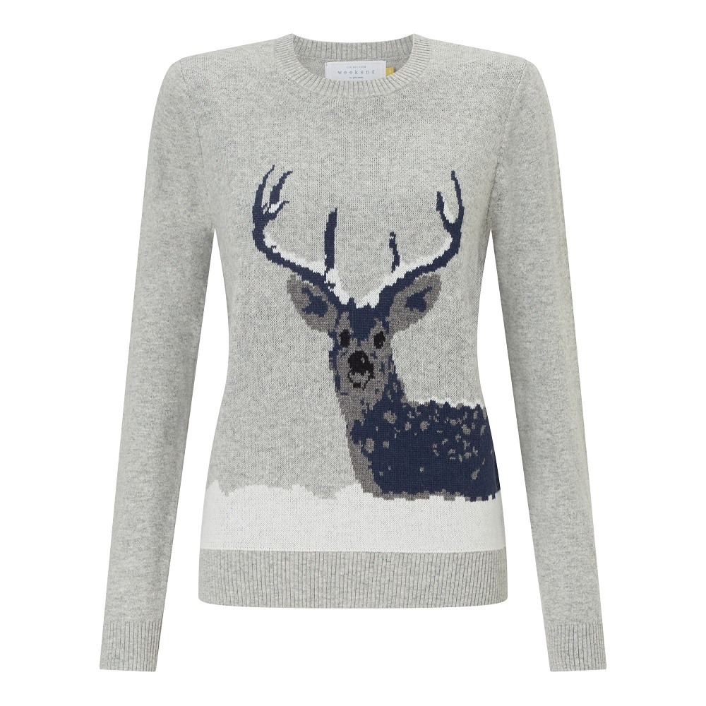 Collection-WEEKEND-by-John-Lewis-Snow-Deer-Xmas-Jumper--Grey----49