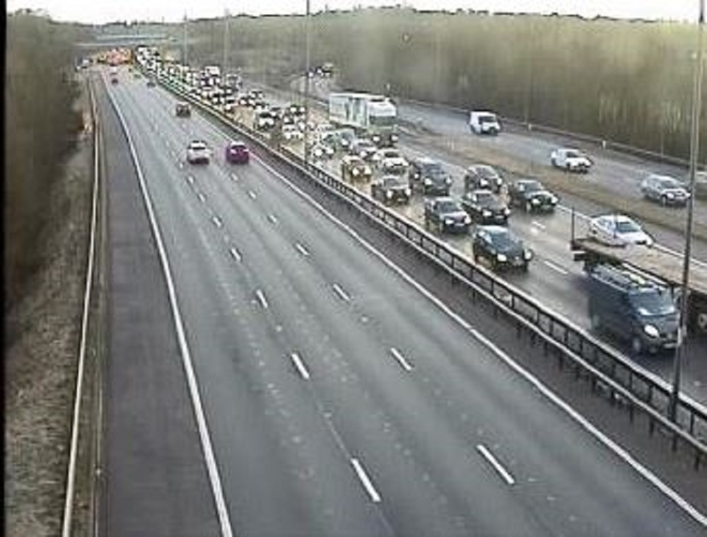 Live updates as two cars crash on the M4