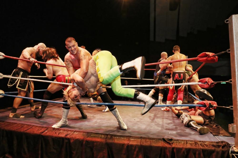 Ferdi vs daniel wrestling fight