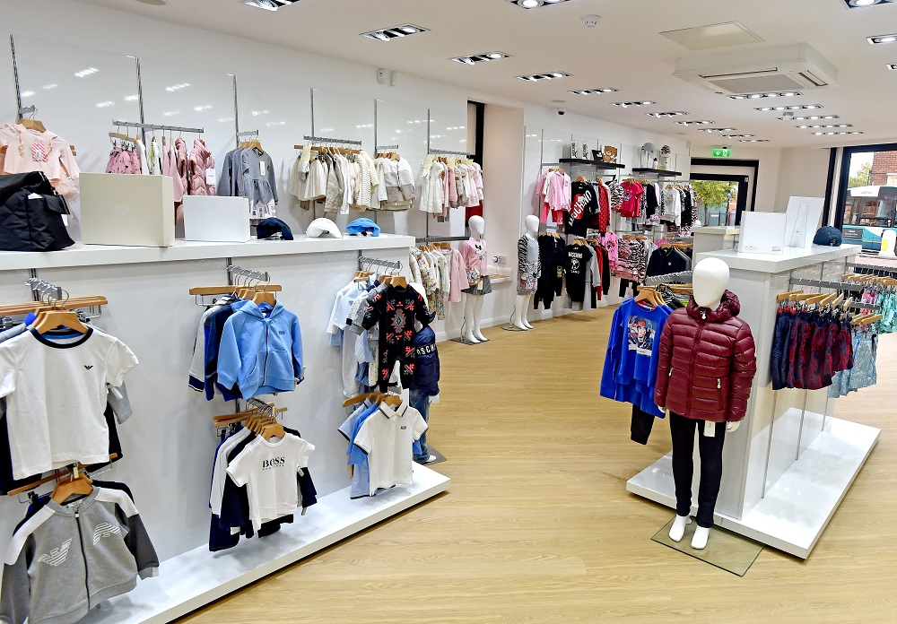 Two of three New Look stores i...