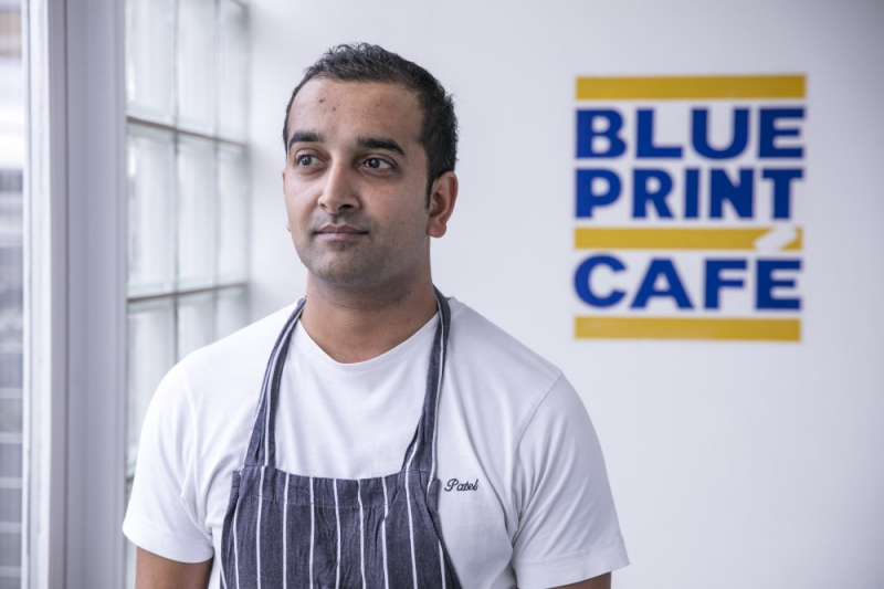 Why new chef patron mini patel is scrapping formal dining at why new chef patron mini patel is scrapping formal dining at blueprint cafe in bermondsey malvernweather Images
