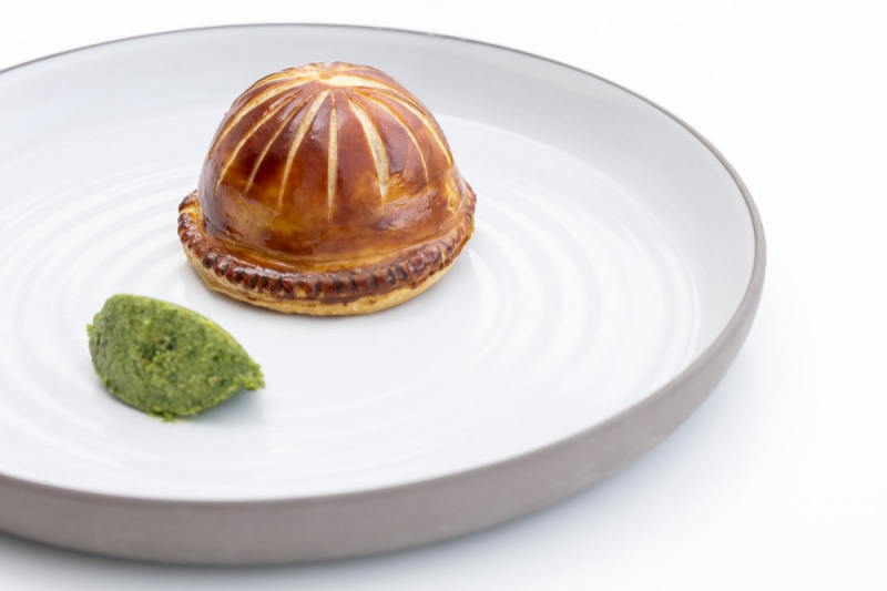 Why new chef patron mini patel is scrapping formal dining at cornish lamb pie with crispy lamb nuggets wild garlic pesto and lamb roasting juices credit thomas alexander malvernweather Images
