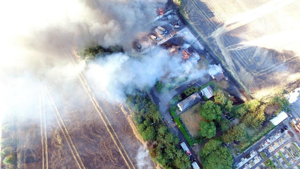 Marlow-fire-aerial-Bucks-MK-Fire-tiwtter