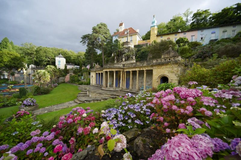 portmeirion places wales gardens garden most visit north gypset english tours pretty chelsea flower travel welsh britain amazing gorgeous stunning