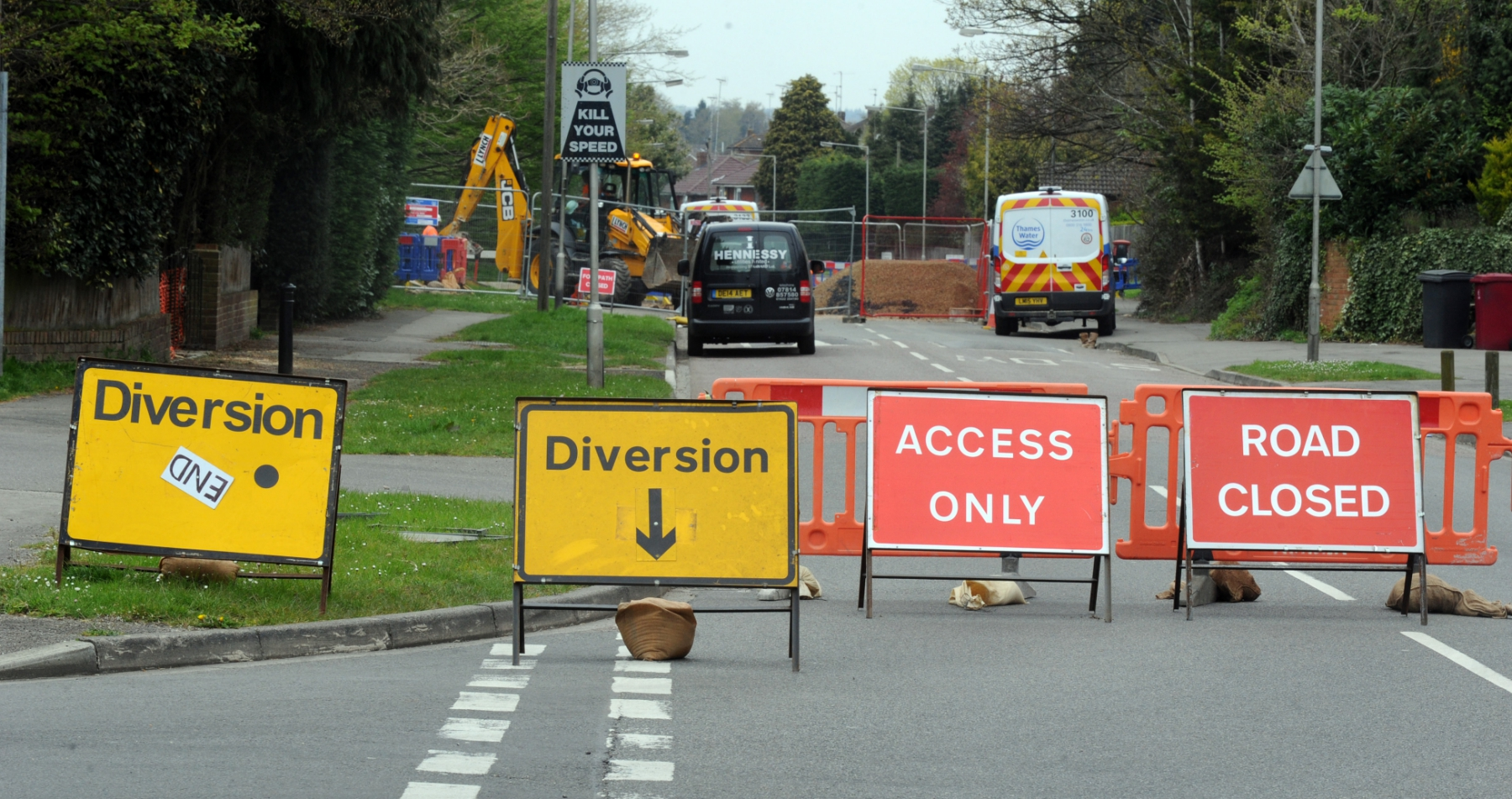 These are the roadworks set to cause delays around Reading