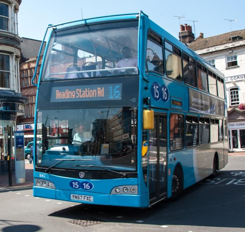 Reading Buses Running Reduced Timetable Over Christmas And New Year