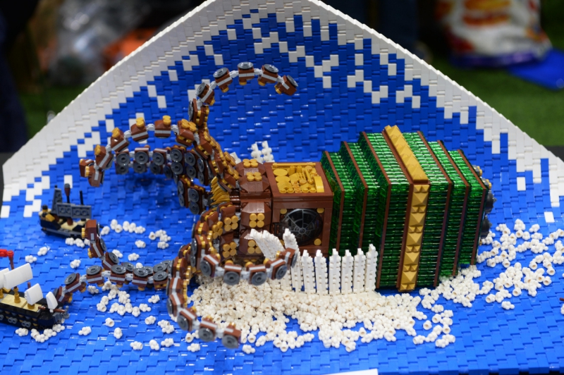 See incredible Lego creations at the first Reading Brick Show