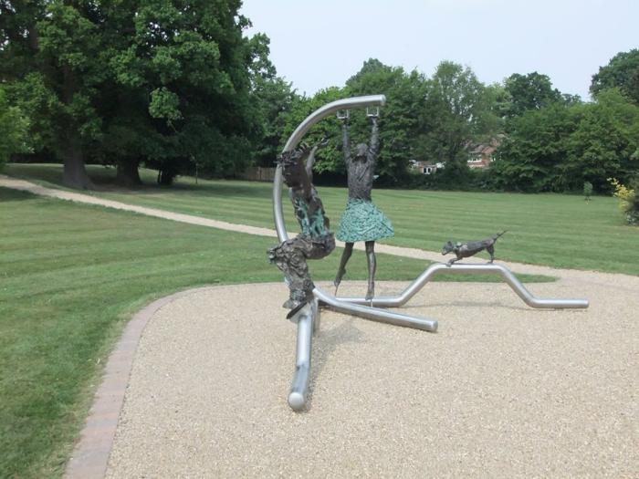 Unusual statue stolen from Bracknell park