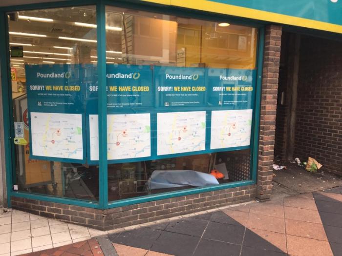 Staff made redundant as Poundland closes Reading store
