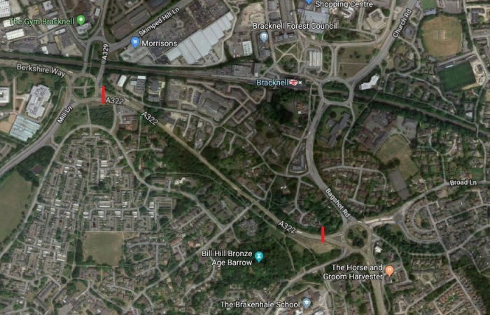 Work begins to make Bracknell road a dual carriageway