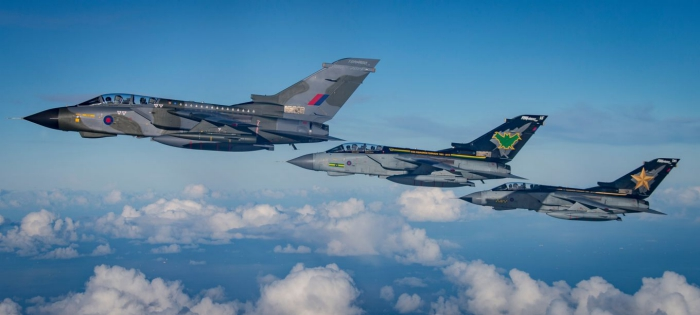Where to watch RAF Tornado's final flypast in the Thames Valley