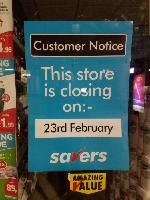 Savers-Closure-190219-02