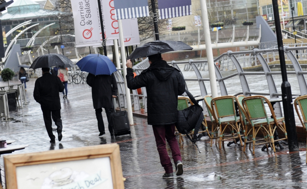 Storm Erik Brings Wet And Windy Weather