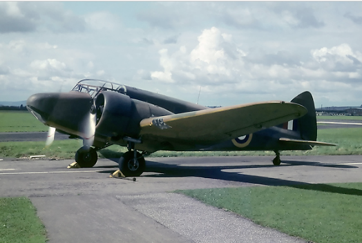 Airspeed-Oxford-Mk1-similar-to-the-type-flown-by-Harold-Roots-and-Peter-Cadman-DFC