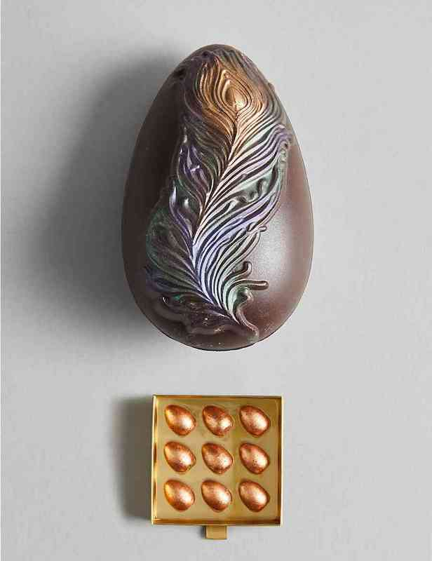 14-Best-Supermarket-Easter-Eggs-of-2019-dark-choclate-feather-egg