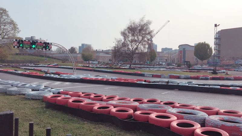 Review: London's only outdoor Go Karting venue | InYourArea