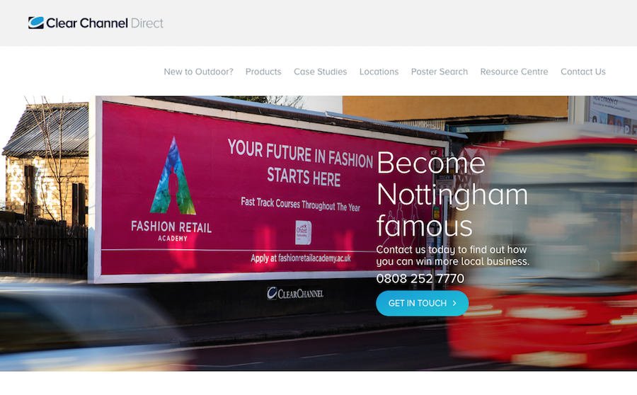 Local-Advertising-Options-For-Businesses-in-Nottingham-clear-channel-direct