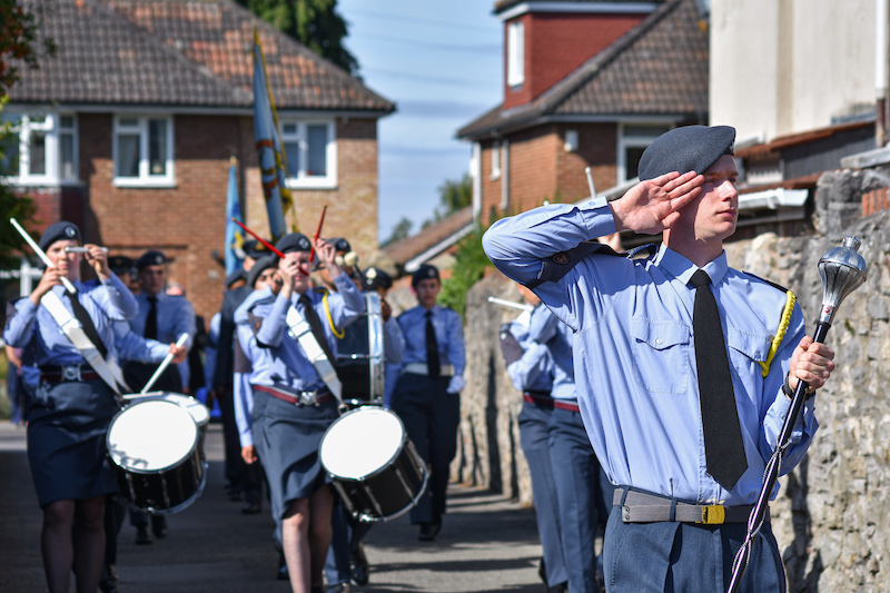 Air-Cadets-and-RAF-Veterans-mark-Battle-of-Britain-Day-in-Bristol-1
